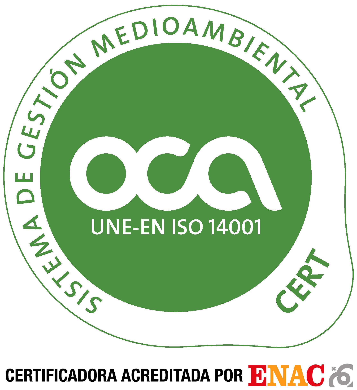 logo certificado gestion medioambiental
